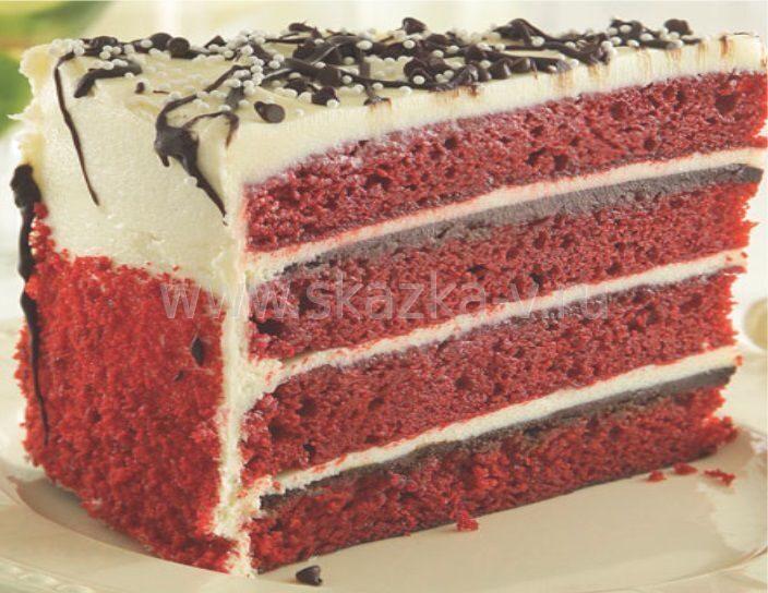 Красный бархат рецепт с пошаговым фото